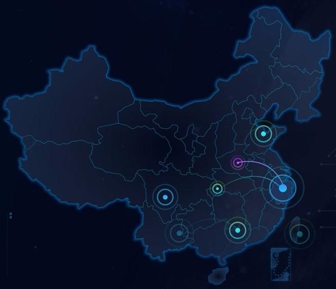 中国地图组件(含各省)