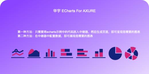 华宇ECHARTS  FOR AXURE